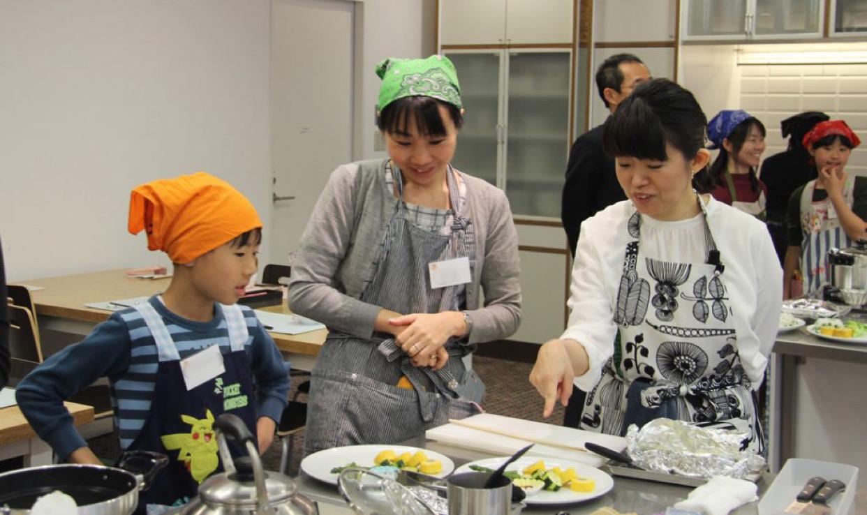 2018春休み親子料理教室「親子でお弁当を作ろう!」