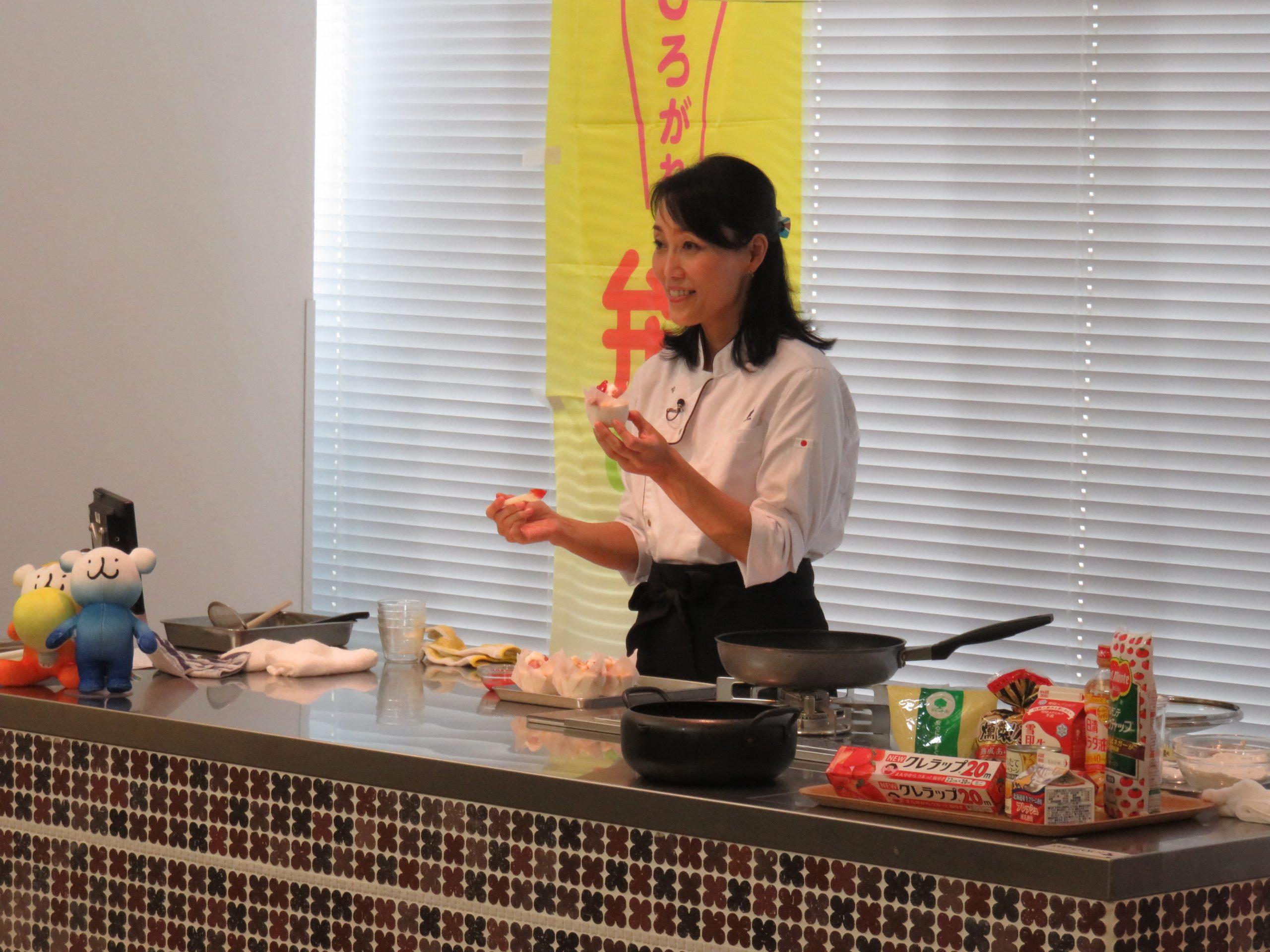 夏休みオンライン子ども料理教室「米粉料理をつくってみよう!」
