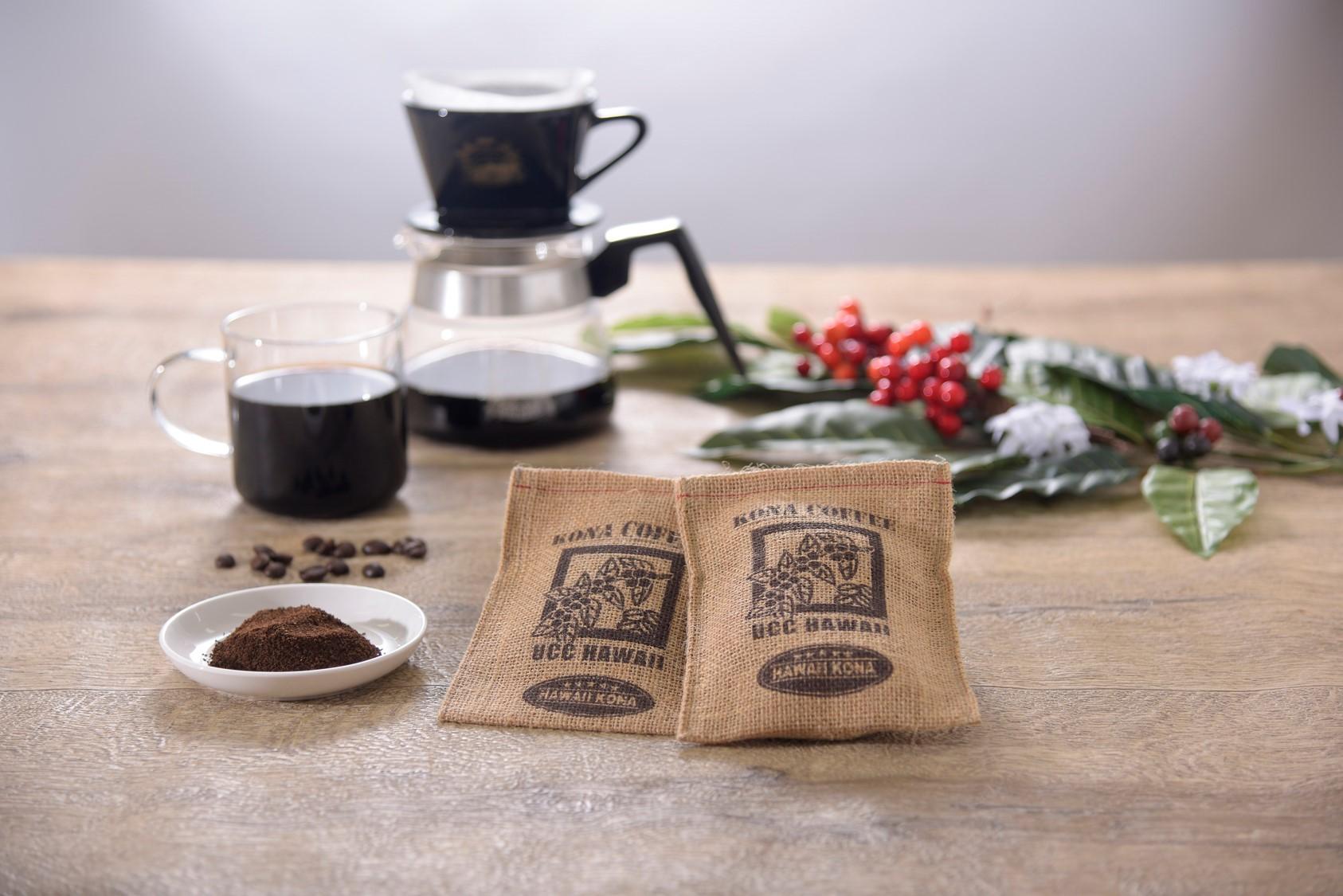 """サステイナブルにコーヒーを飲もう UCC公式通販サイトで""""コーヒー抽出かす用ミニ麻袋""""を無料配布"""