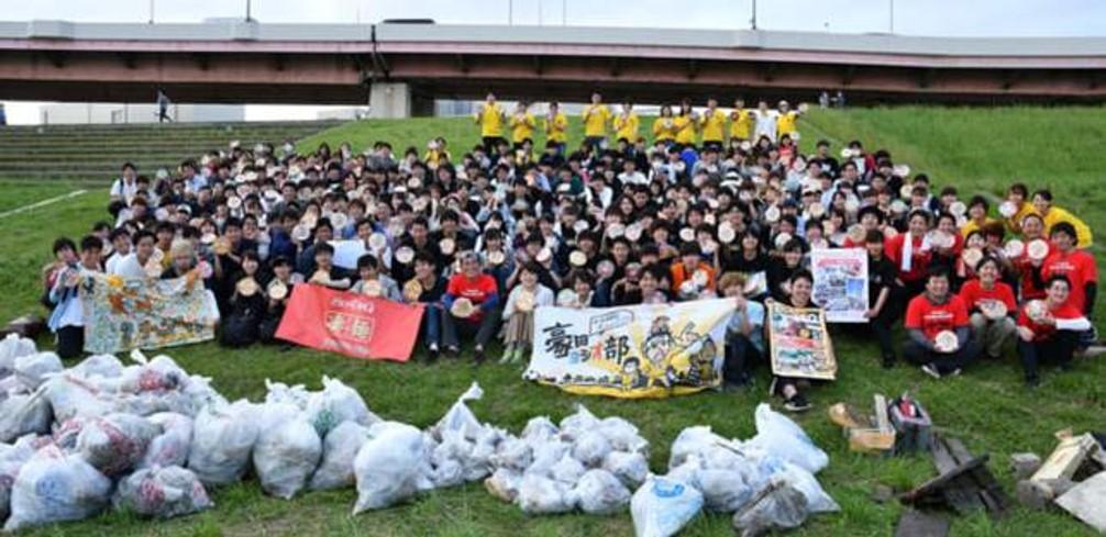海無し県から海洋プラスチックごみ問題に取り組む 「大学対校!ゴミ拾い甲子園 in 埼玉県」