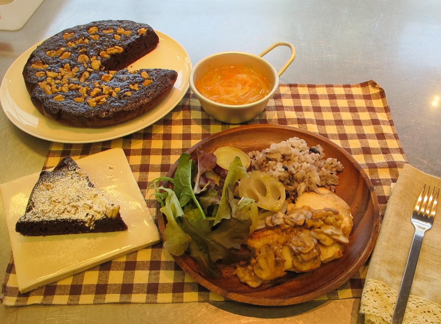 2016冬の料理教室「おうちで楽しむバレンタインディナー」