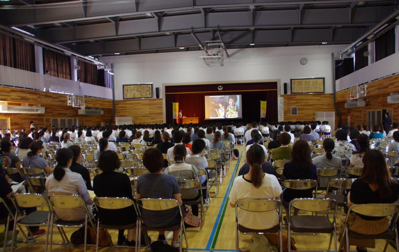 〈青森県〉十和田市立三本木中学校