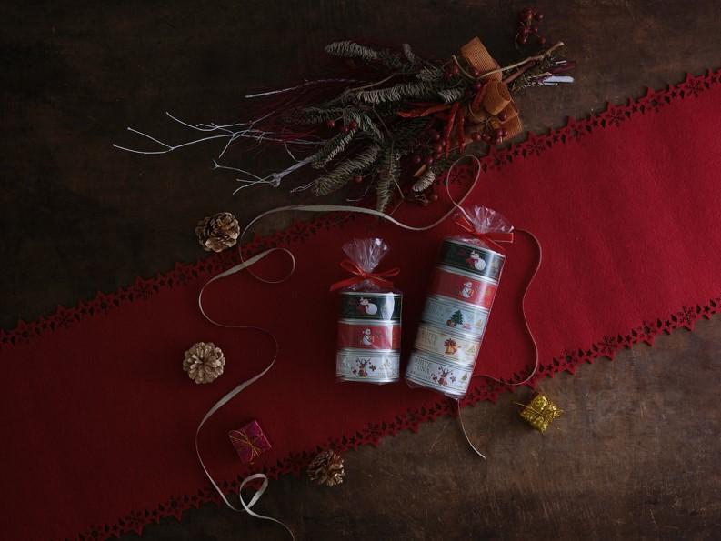 5つの味が楽しめる! クリスマスに高級ツナ缶