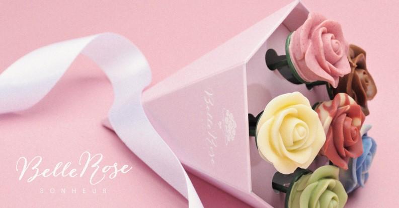 ご褒美スイーツやちょっとしたギフトに バラのチョコレートブーケはいかが?