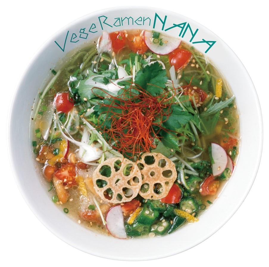 """麺もスープも具材も全て""""野菜の美味しさ""""が素材 画期的な「ベジラーメン」をデリバリーで"""