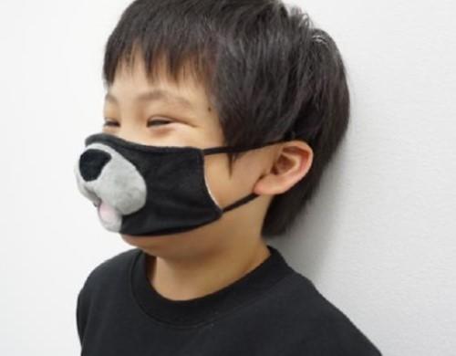 マスクを着けるのが楽しくなる!? 子ども向け「なりきりアニマルマスク」