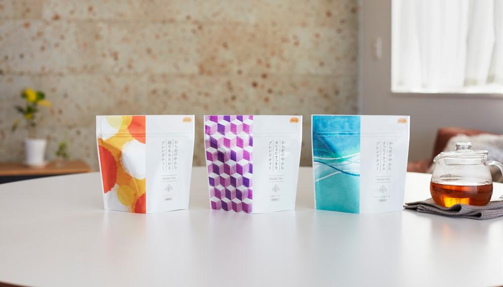 アイセイ薬局が「KuSu(クス)ブレンドティー」を発売 薬剤師の意見から生まれた3種類のブレンド