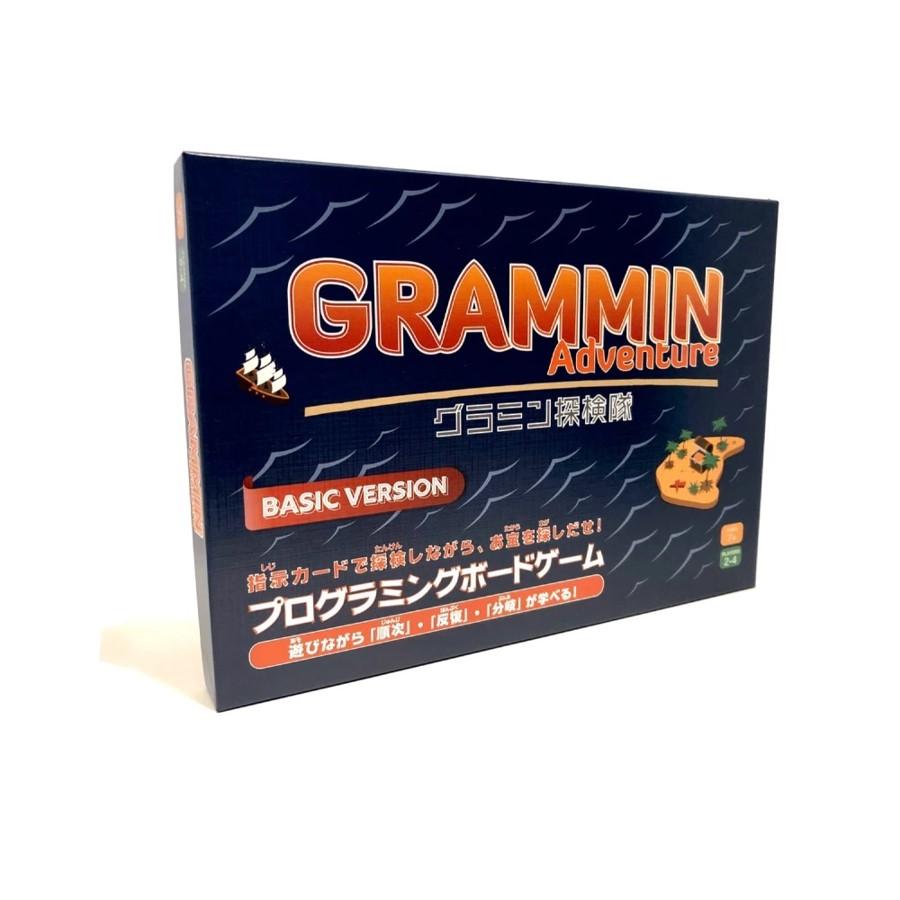 開発者は8歳の男の子! プログラミング的思考を養うボードゲーム「GRAMMIN」