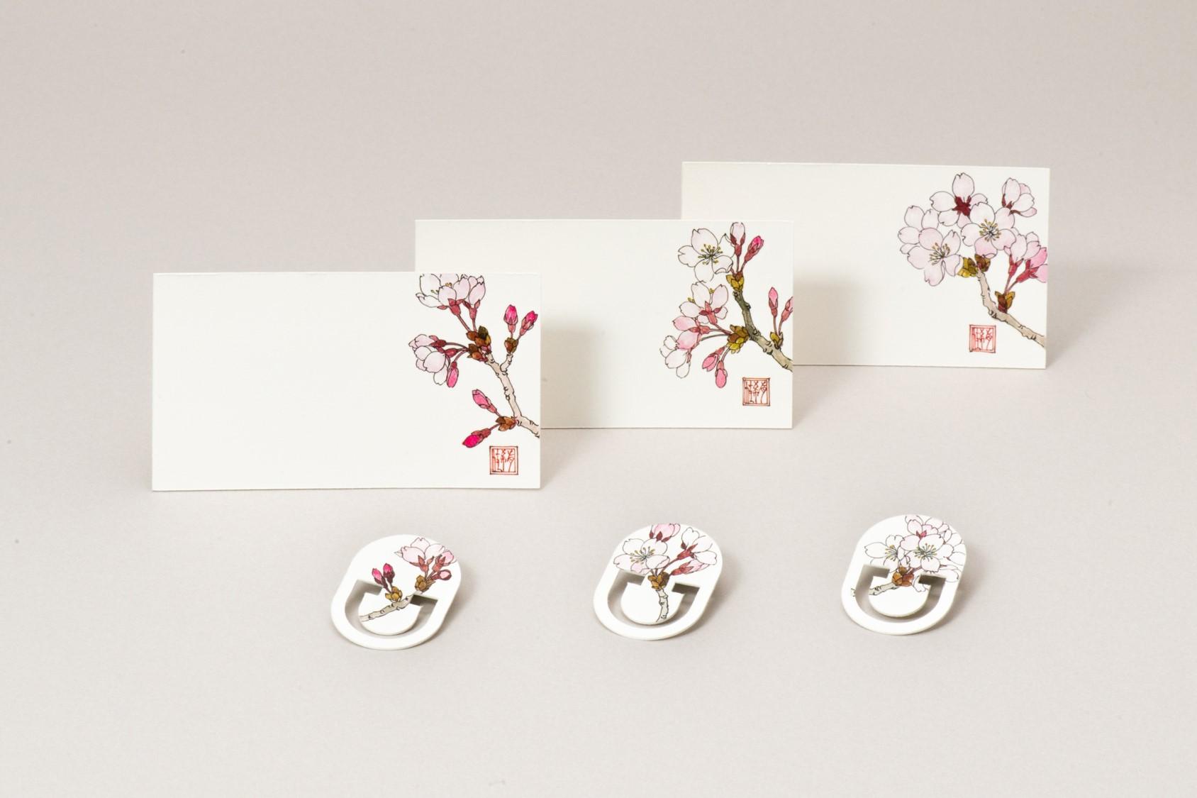 九谷焼作家の絵を暮らしに メッセージカードやクリップ