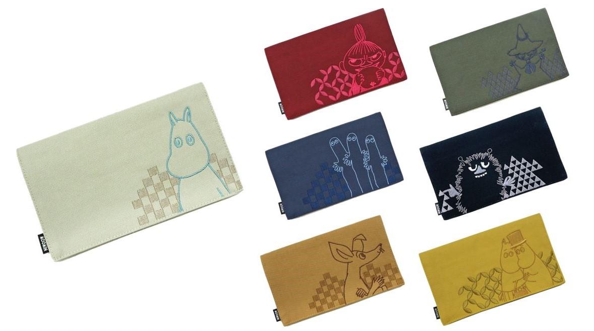 和と北欧のミックステイスト 京都の着物メーカーが作るムーミンのマスクケース