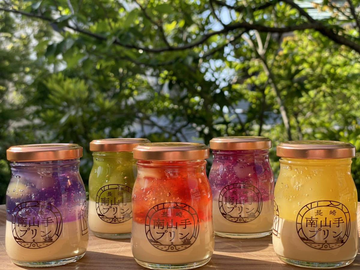 まるでステンドグラス! 5色に輝く長崎の「南山手ステンドグラスプリン」