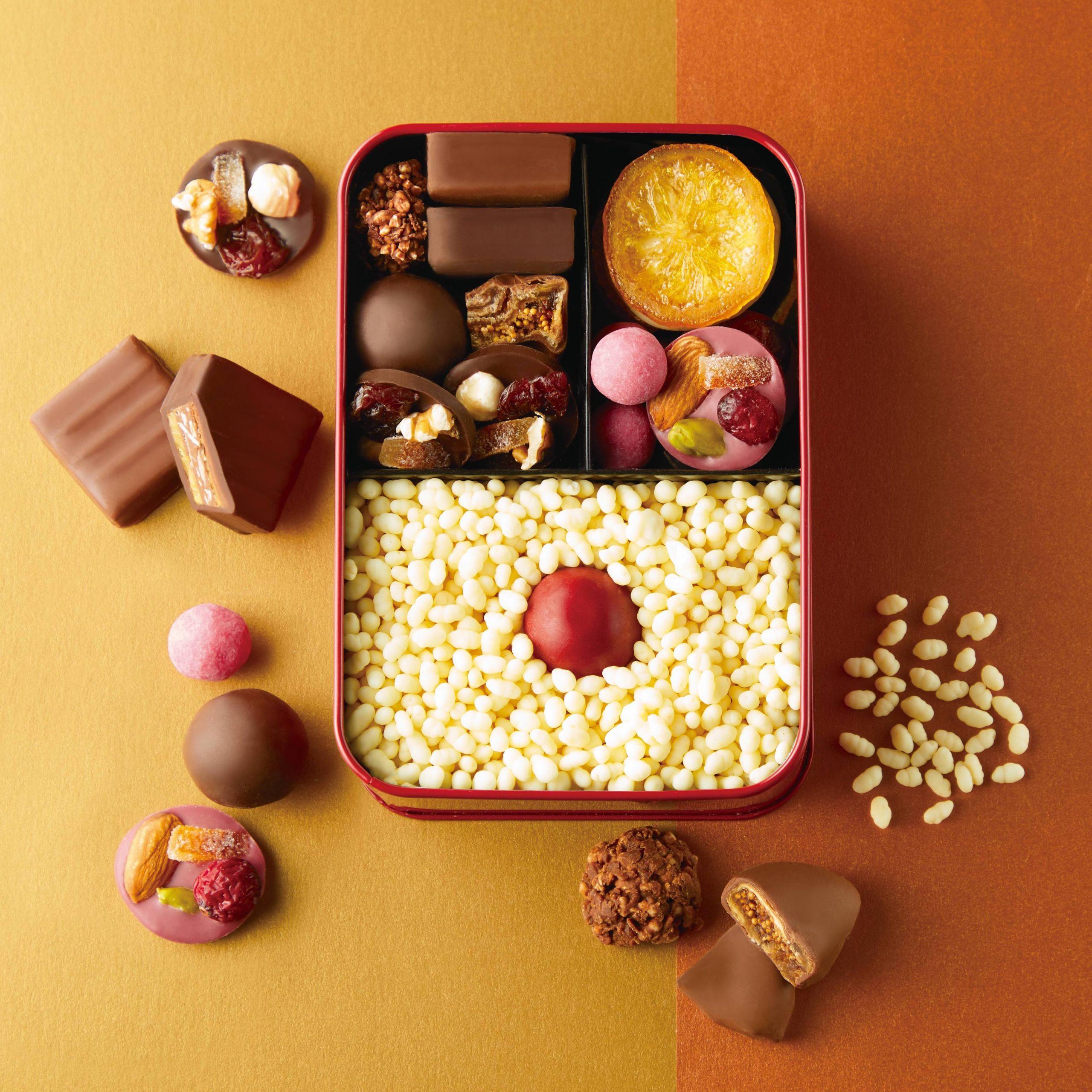 カカオ焼き菓子が詰まった「カカオ弁当」!? 東京・渋谷マークシティにチョコレートの新ブランド