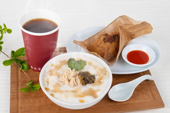 春水堂で「台湾モーニング」開始 豆乳スープ「鹹豆漿」やちまきのセット