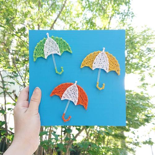 夏に向けて釘と糸でインテリアチェンジ!? 作って飾るおうち時間の楽しみ方