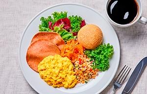 ほぼたまごの味わい、ほぼスクランブルエッグ 豆腐加工品ベースの卵代替フード