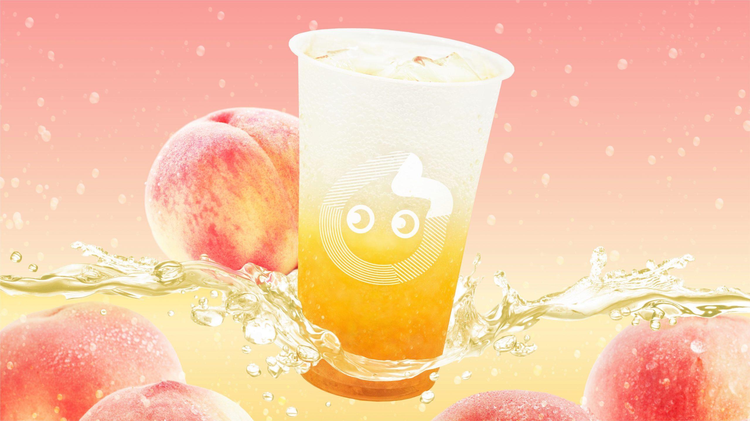 CoCo都可初の炭酸飲料! 暑い季節にぴったりの「ピーチソーダ」
