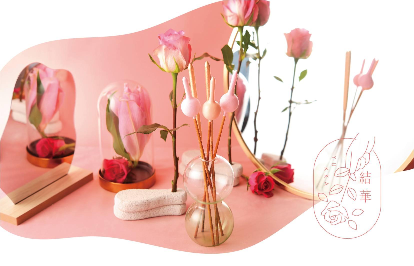 花火だけど花のように飾れる 見た目も楽しめる「結華」