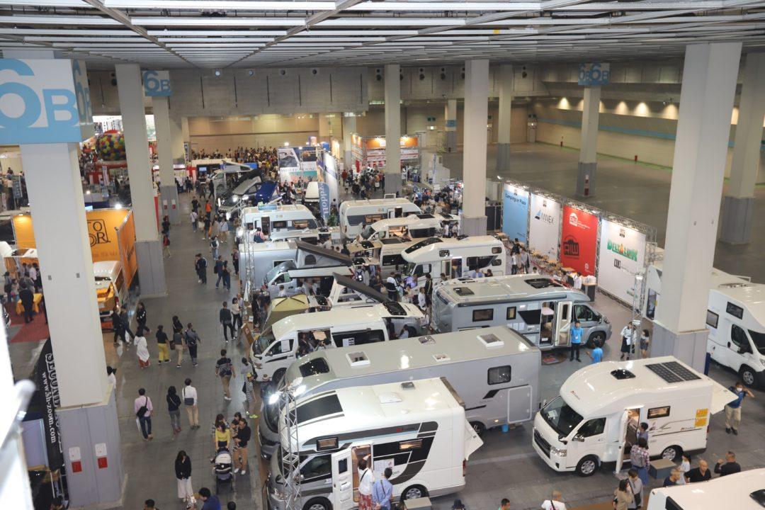 9月25、26日「大阪キャンピングカーフェア 2021」開催 インテックス大阪に約150台集結