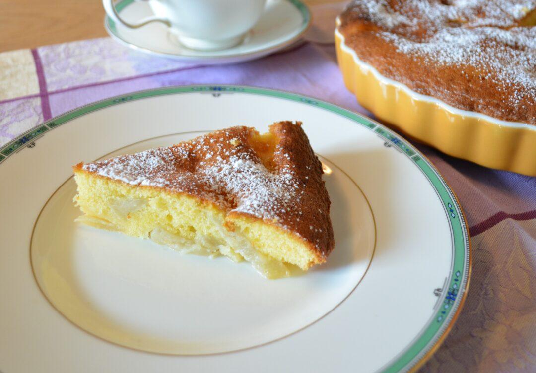 カルバドス風味のケーキ