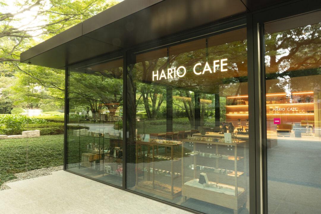 HARIO直営のカフェが東京・六本木にオープン コーヒーや紅茶の器具、ガラスアクセサリーも販売