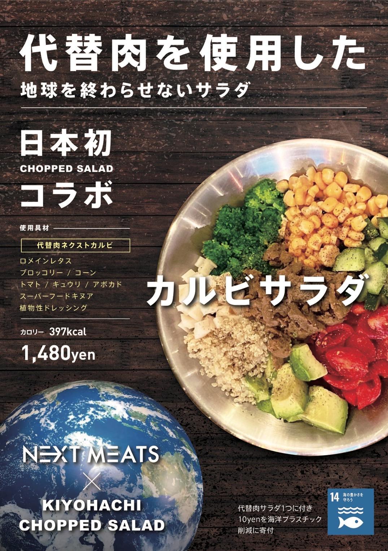 「地球を終わらせないサラダ」 代替肉を使っておいしくヘルシー